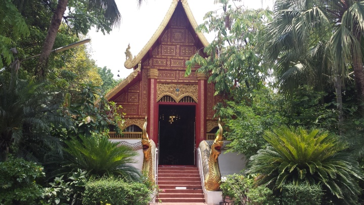 Wat Phra Kaew's Ordination Hall.