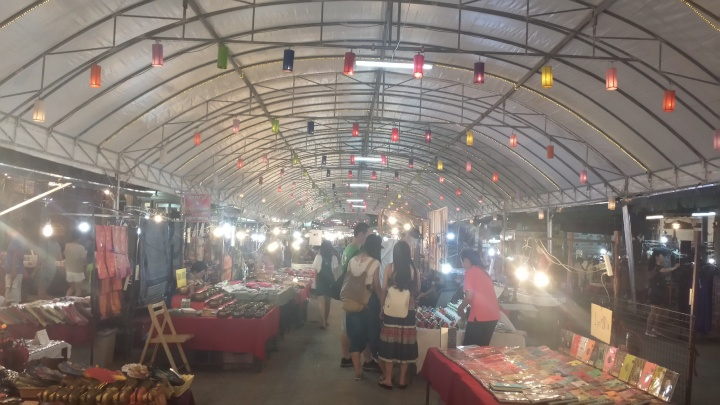 At Anusarn Night Market. Sorry for bad quality; phone's not the best.