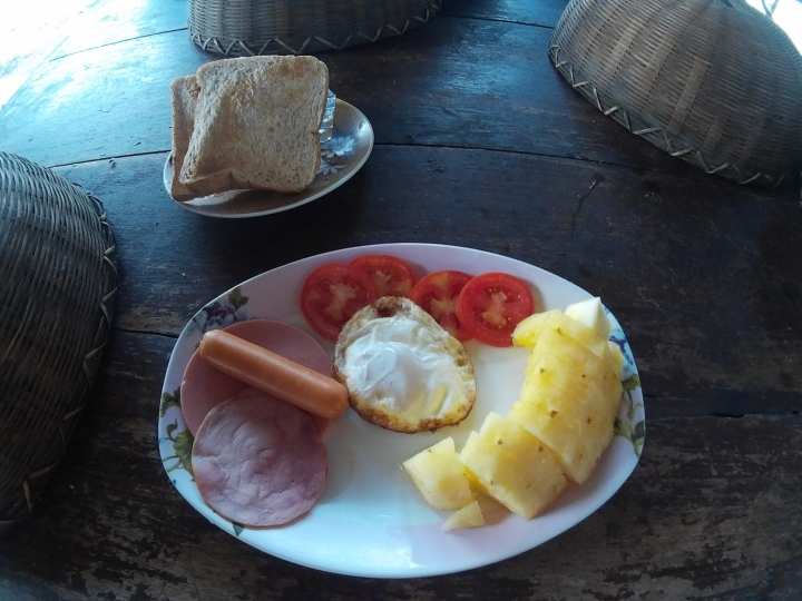 One of the breakfasts that Mama prepared!