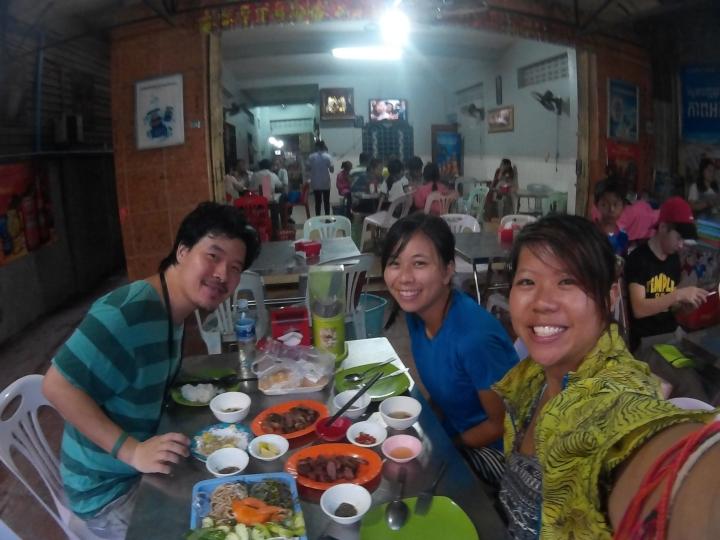 Met Jacob for Khmer BBQ dinner!
