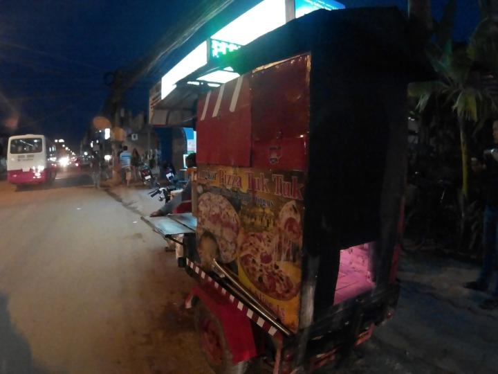 Angkor Pizza Tuk Tuk!