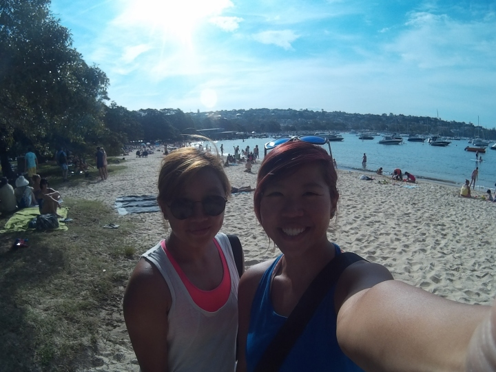 Genuine smiles of pure joy and happiness at Balmoral Beach!