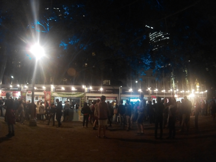 Stumbled upon a Night Noodle Market event while looking for a supermarket (Countdown).
