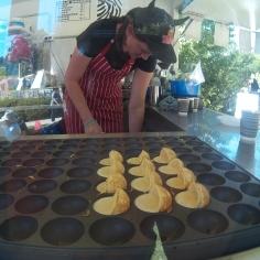 Li'l cute danish pancakes.