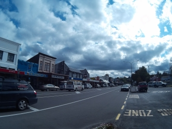 Small town of Taumarunui.