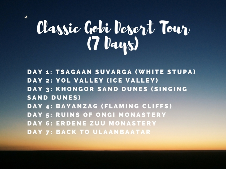 Classic Gobi Desert Tour