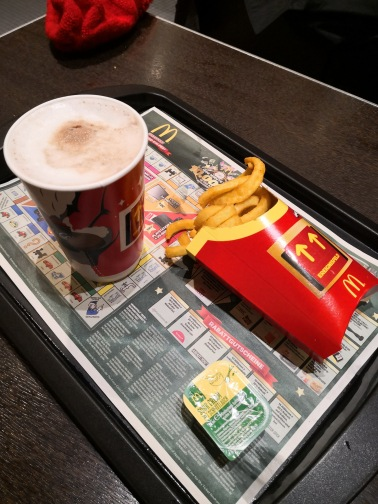 Nuremberg: Dinner at McDonald's...