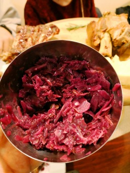I do LOVE their red cabbage though!! It had a tint of sourness to it which I love and it was so delicious.